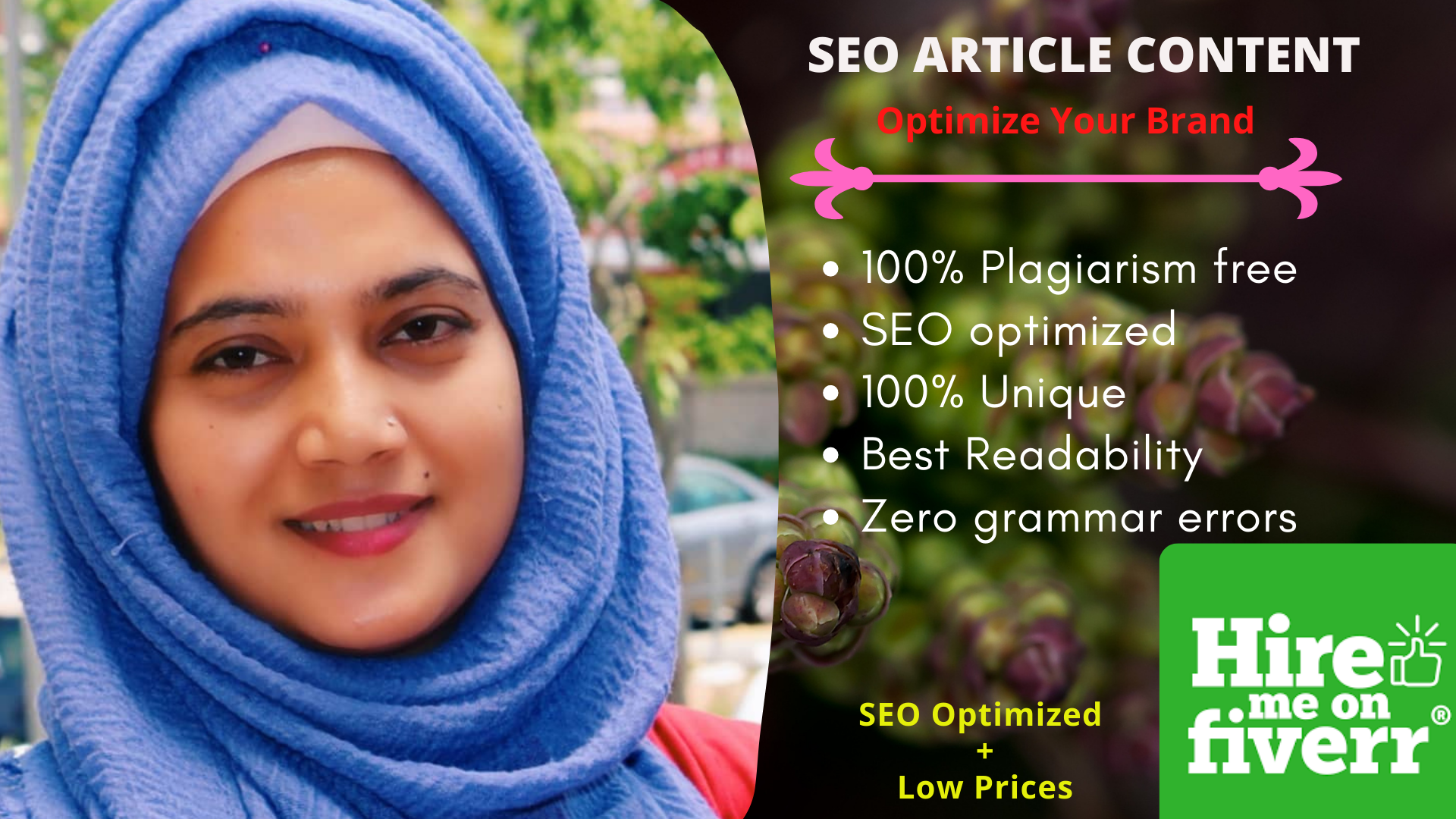 I will write a killer SEO article or blog post in 24 hours