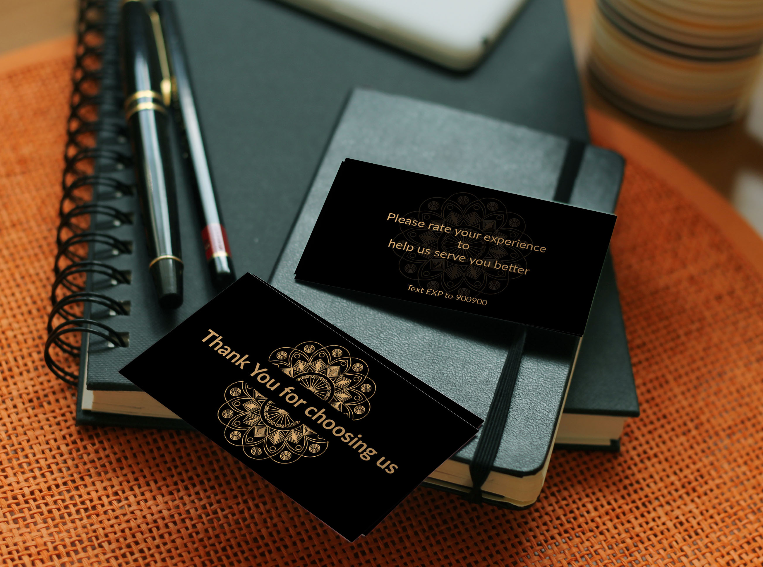 Creative and luxury business card