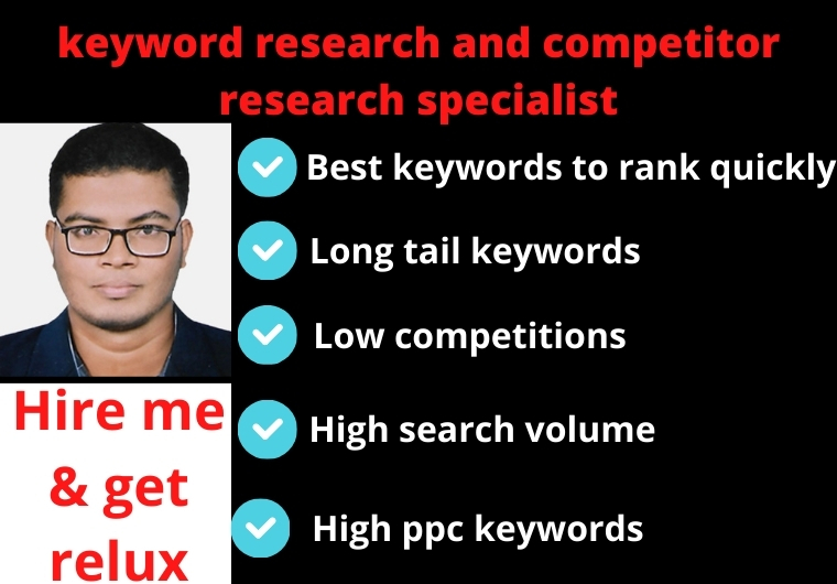 Do the best keyword research and competitor analysis