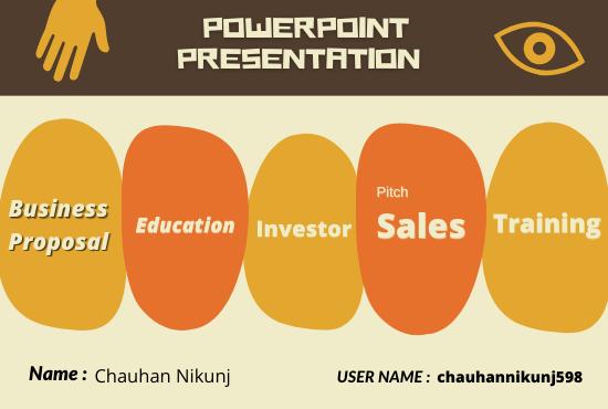 I will design business PowerPoint presentation