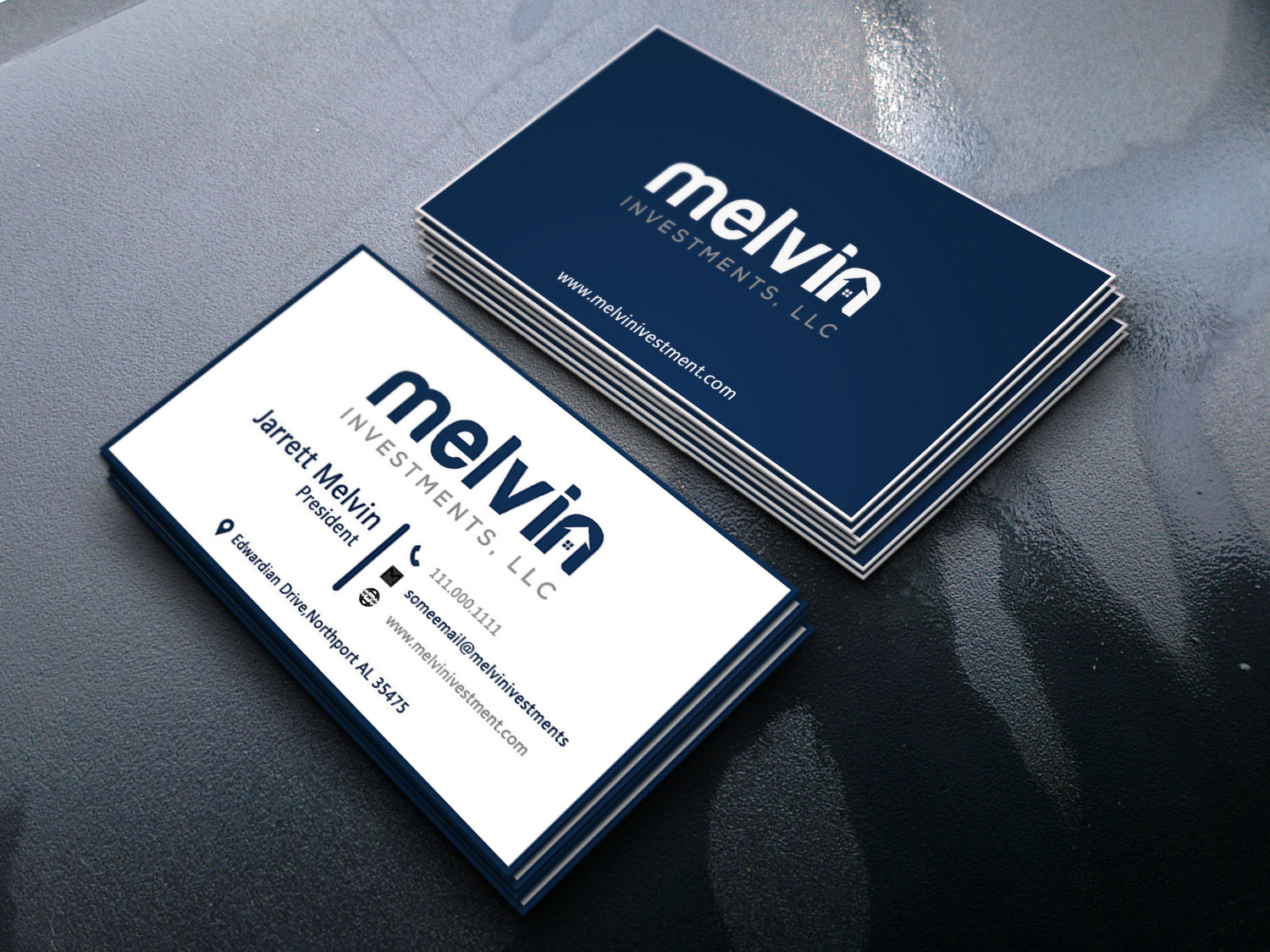 I will do professional business card design. It will be on time
