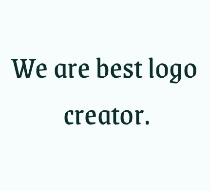 we are the best logo creator and sort time.