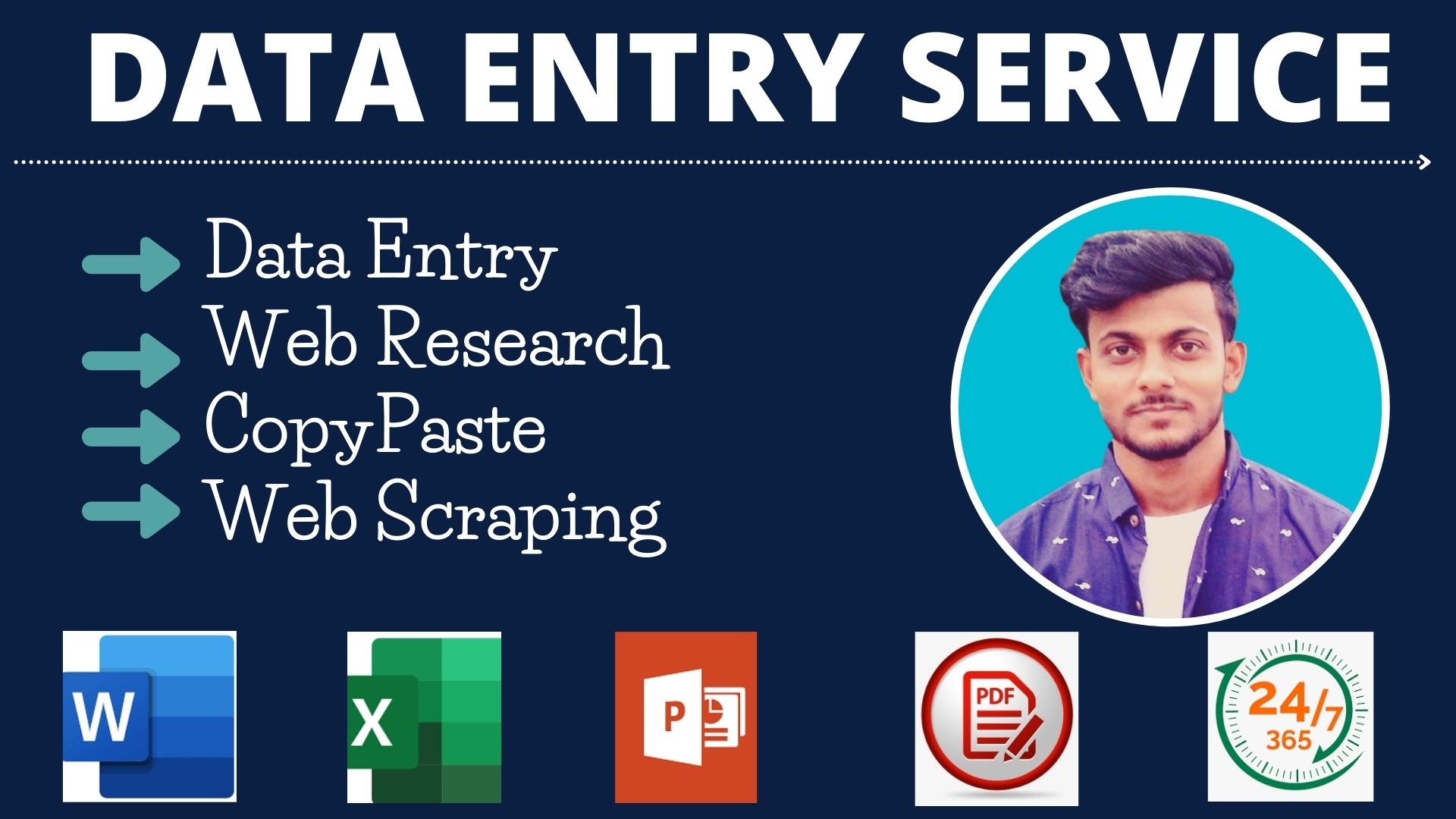 I provide you perfect Data Entry and Copy past