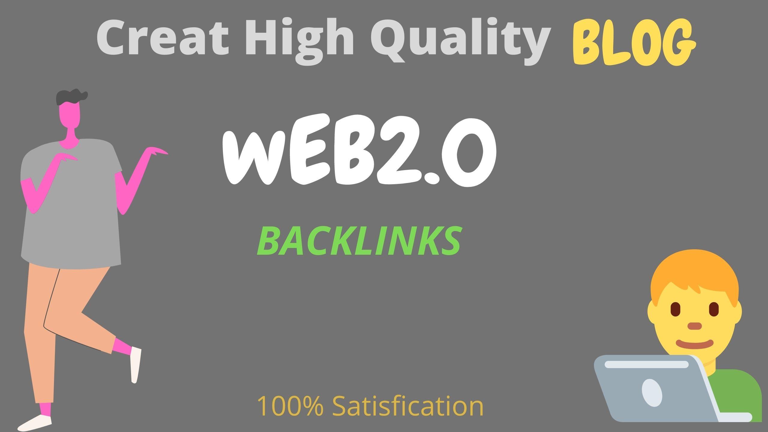 I Create Web2.0 Sub-domain High Quality Blog