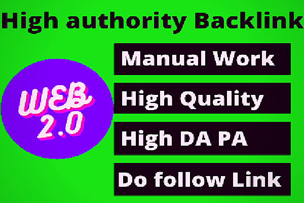 I will create 50 Awesome Web 2.0 PBN backlinks