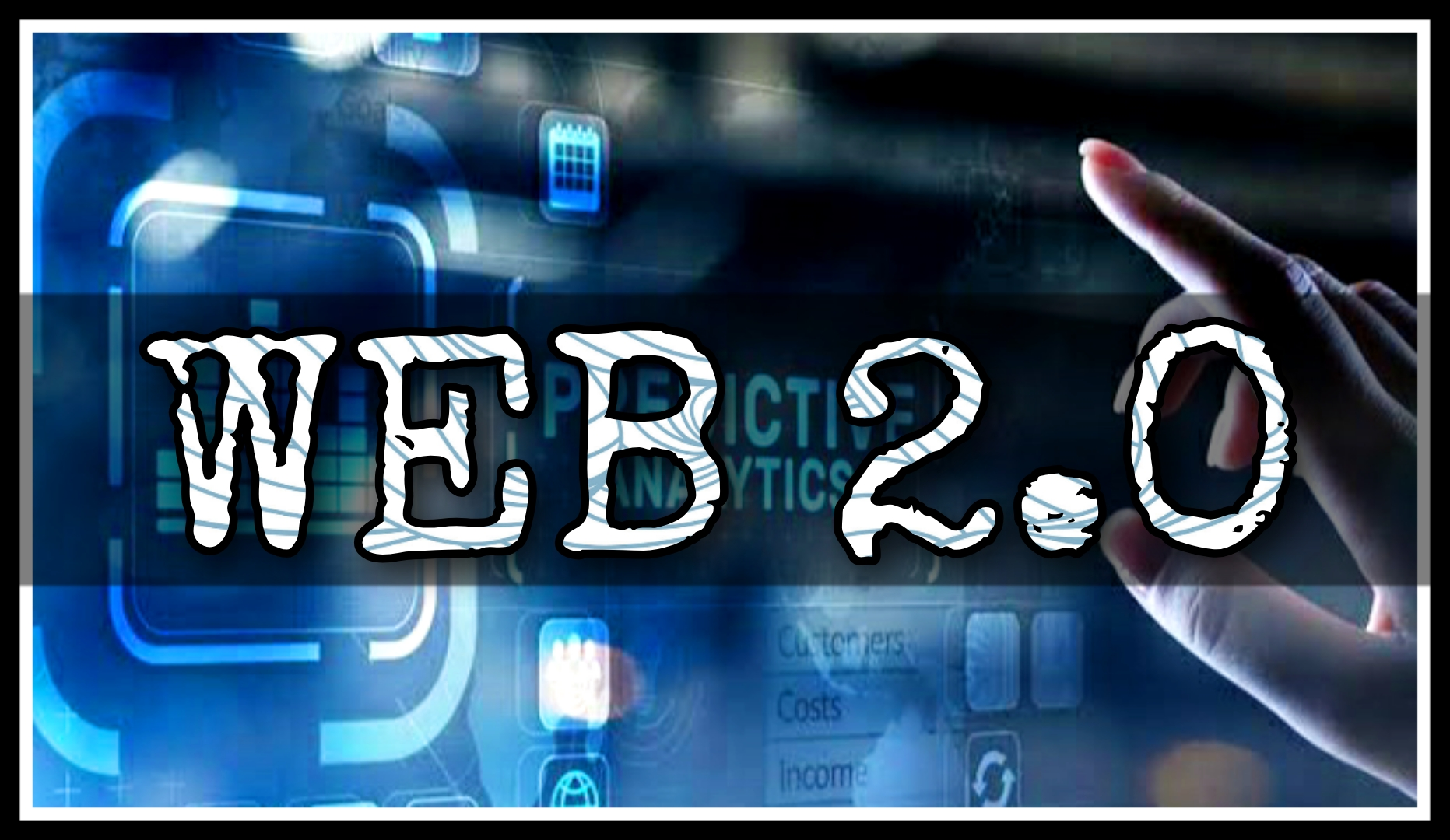 I will create an awesome and Good looking web 2.0 by all about your business content.