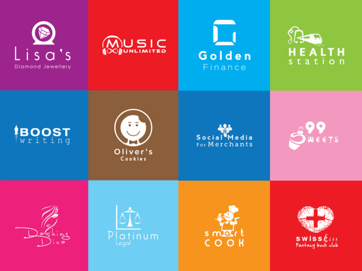I am designing 3 modern minimalist logo design free vector files