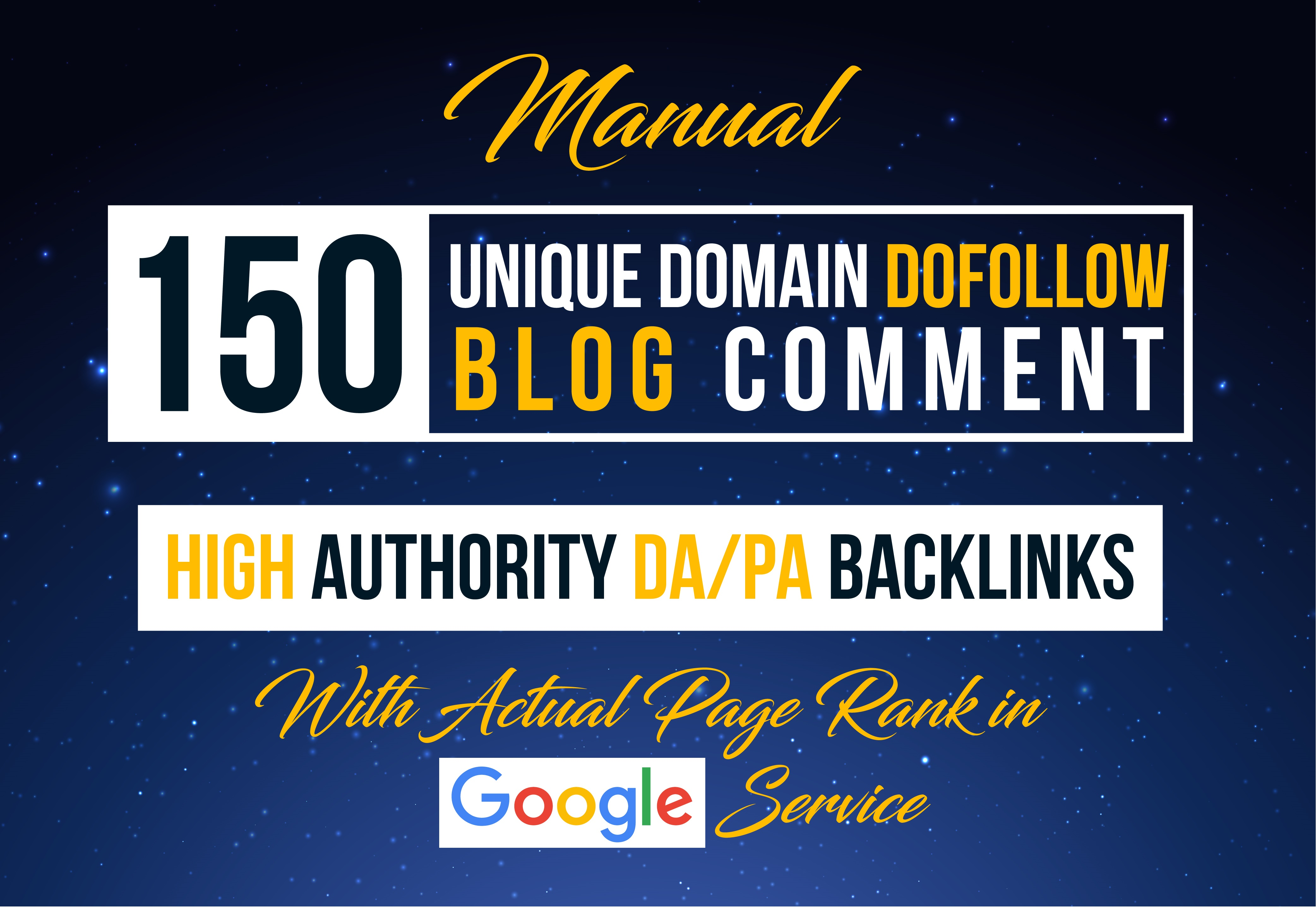 Give 150 High PA DA Manually Do-Follow Blog-Comments Backlinks Low Obl