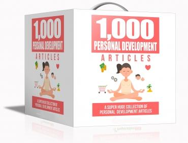 1000 Personal Development Articles