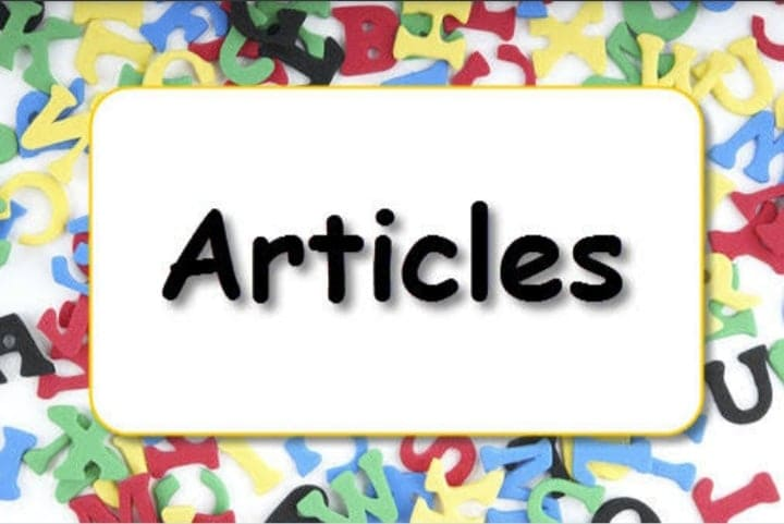 Exclusive articles with more than 1000 words on all topics