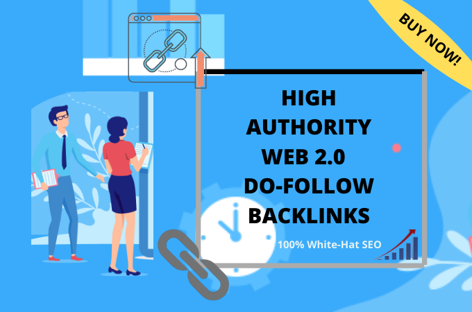 I will provide 5 web 2.0 high quality dofollow backlinks
