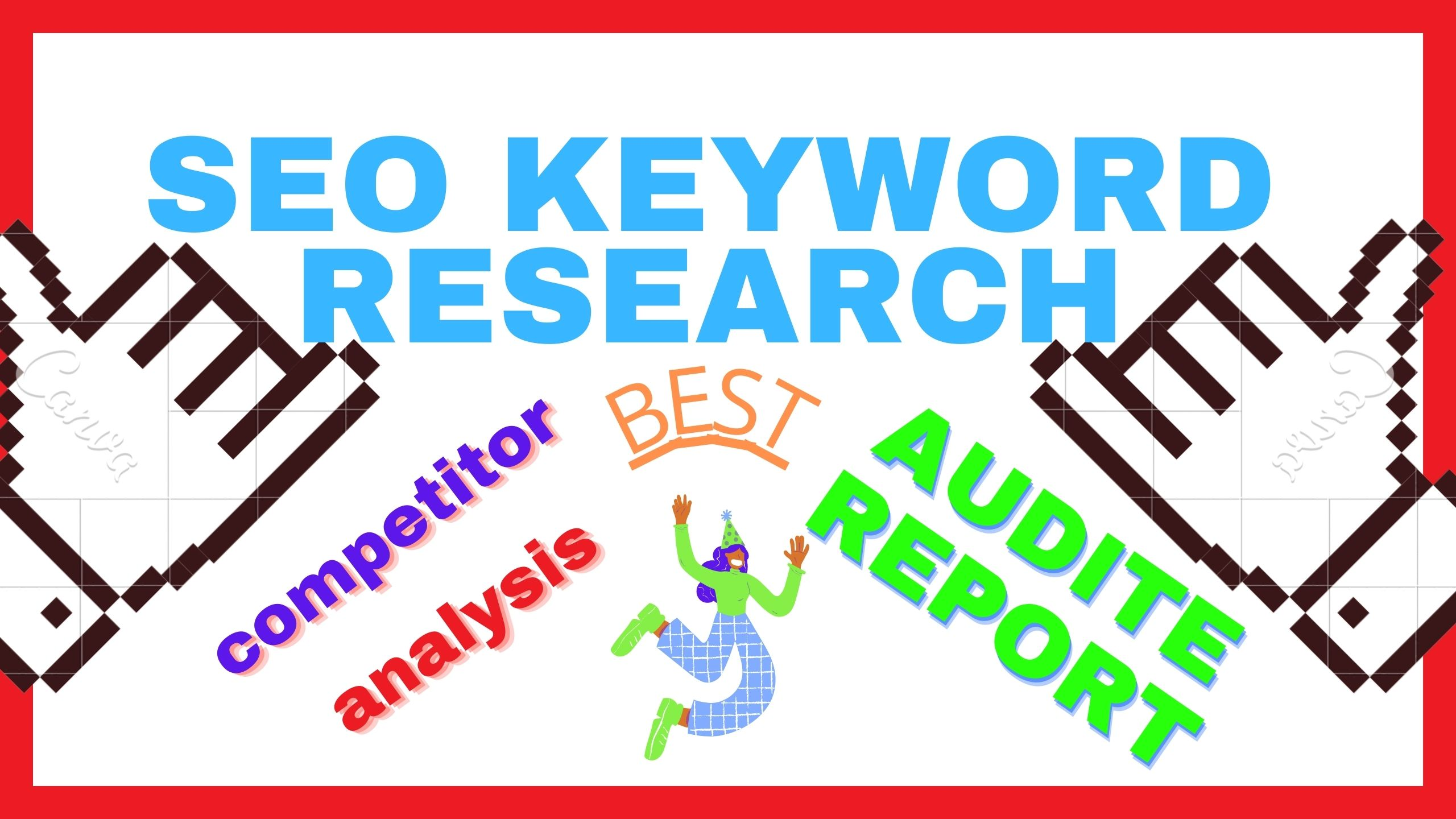 I will provide SEO Audit report,  Keyword Research & Competitor Analysis