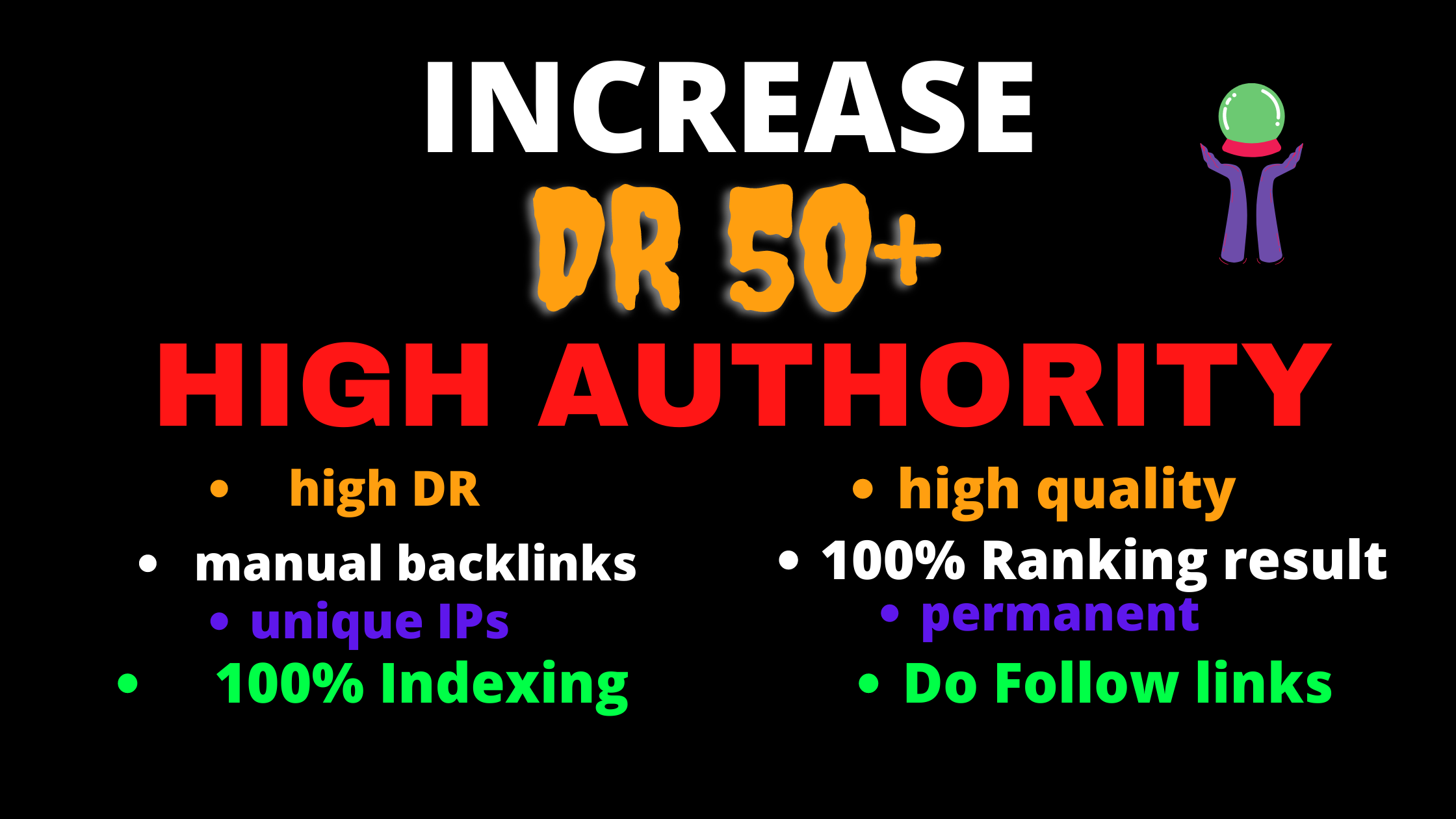 I Will Increase your site Domain Authority 50+ till 60 with in 2o days