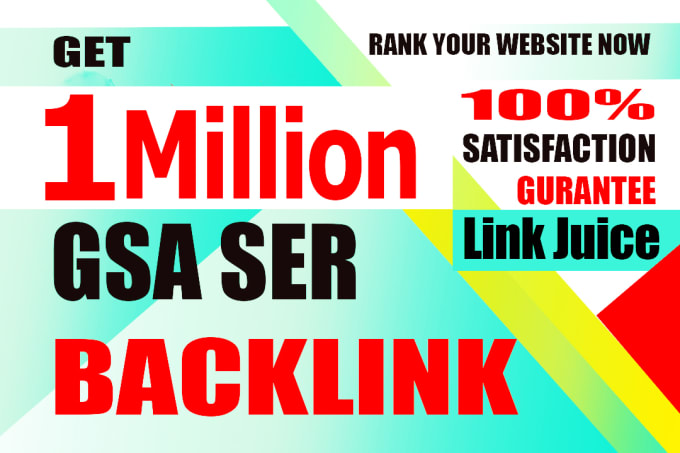 I will do 1 million multi tier dofollow backlinks for faster google indexing 4 days