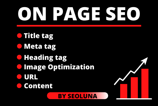 I will do on page optimization for ranking on top sites