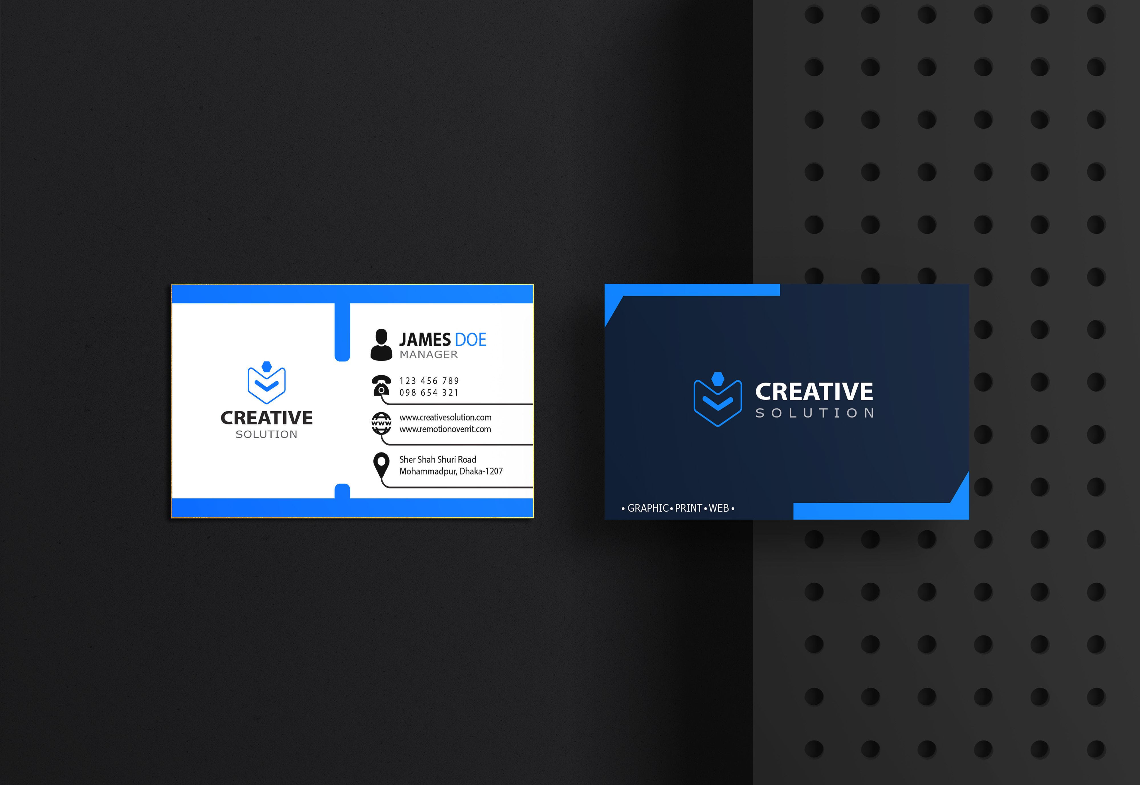 I will provide professional, creative and unique business card design