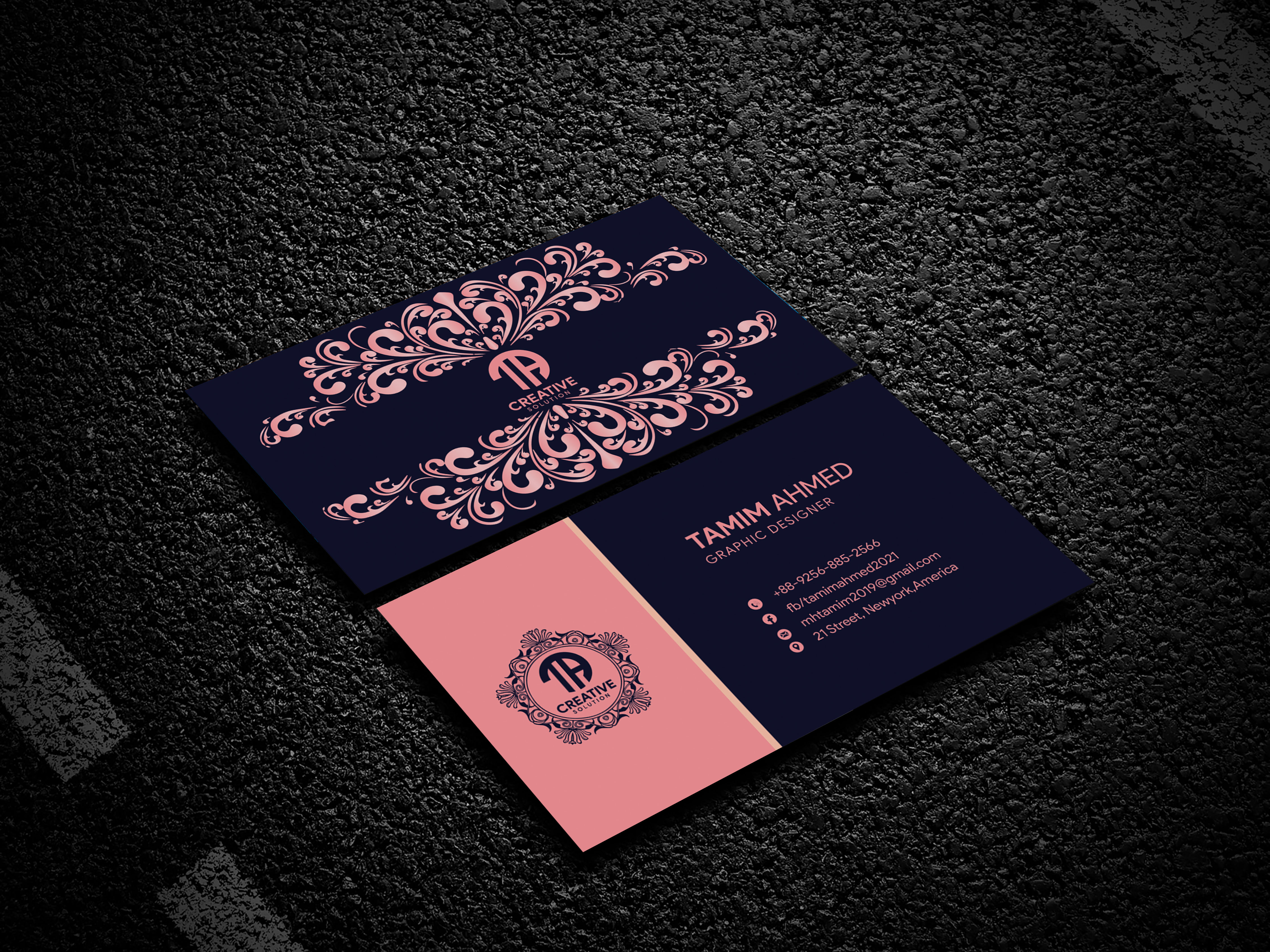 Design your luxury business cards