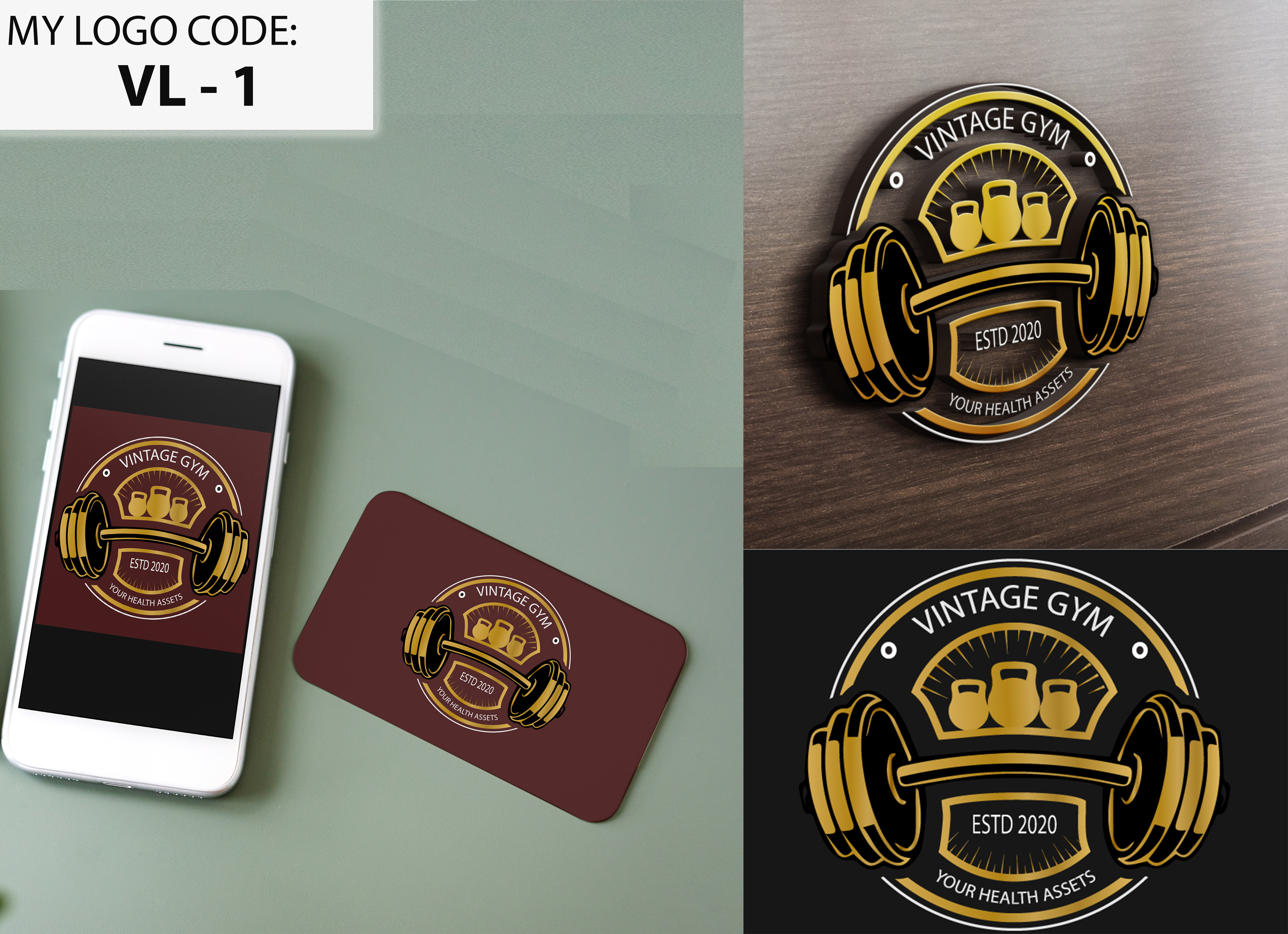 I will do vintage,  retro,  badge or business logo design for you