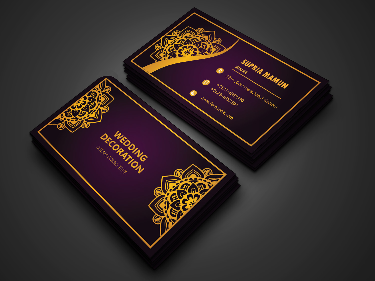 I'll Design YOU 1 Unique Modern Luxury Business Card for you
