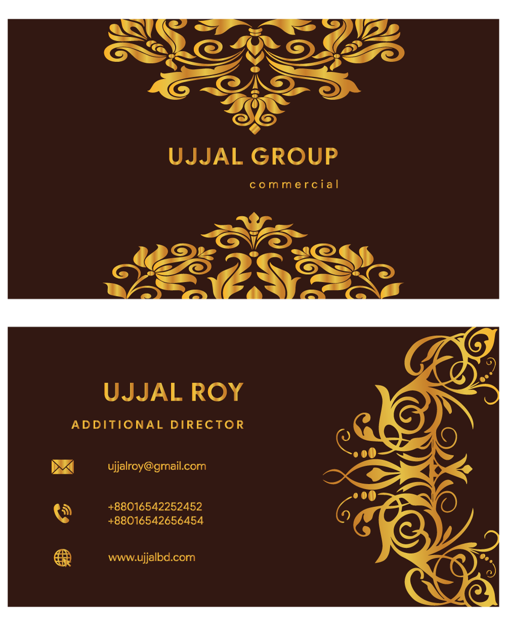 I will create a business card design in 24 hours