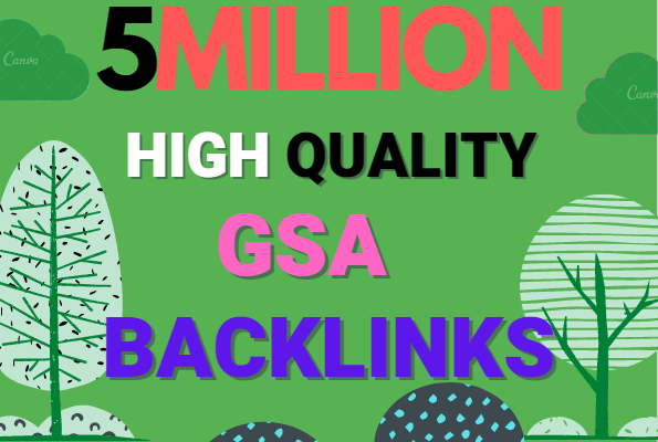 Build 5 Million multi tier high quality GSA SER SEO Verified Backlinks Ranking on your Website