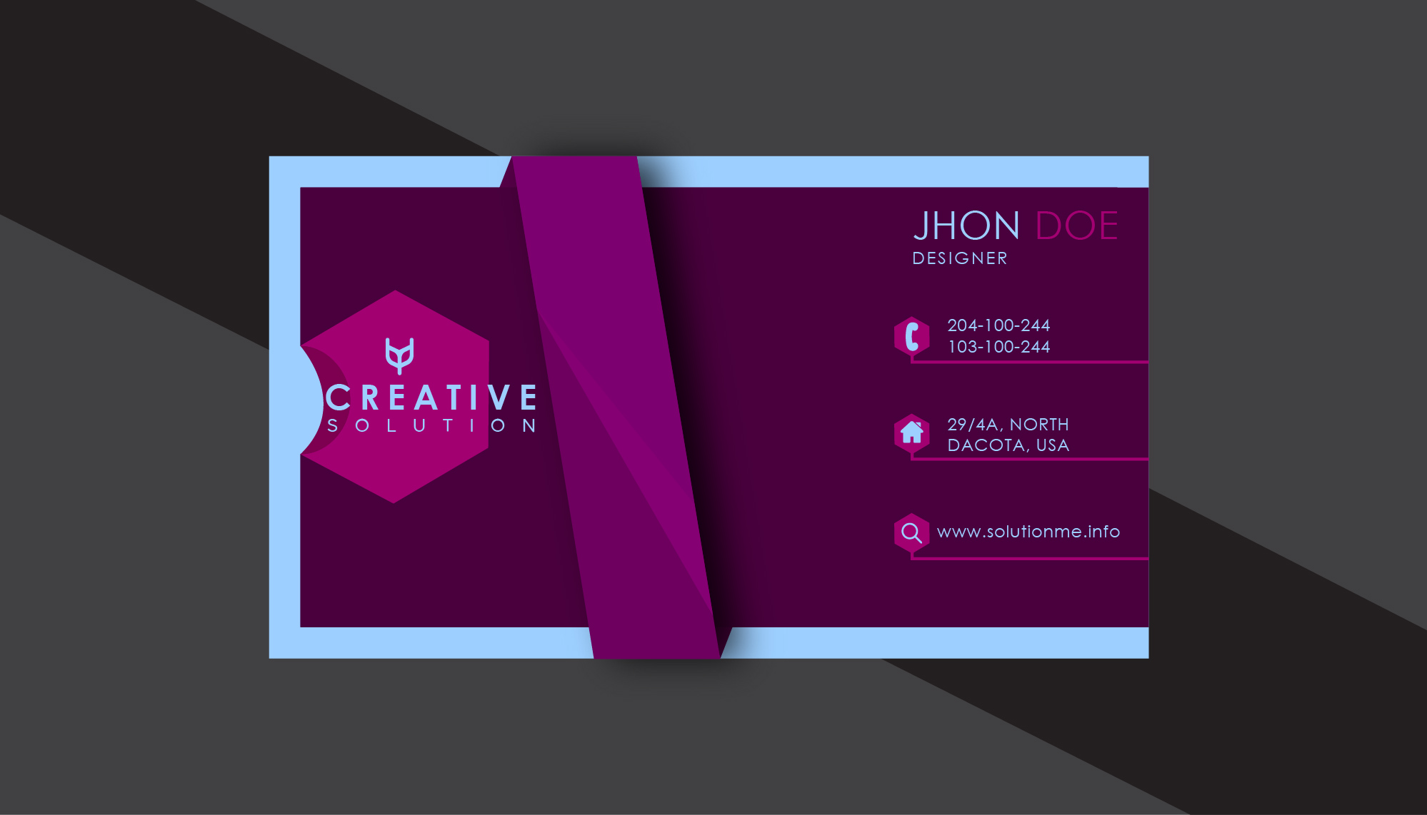 Great business cards are now available for you. Please contact me for unique cards.