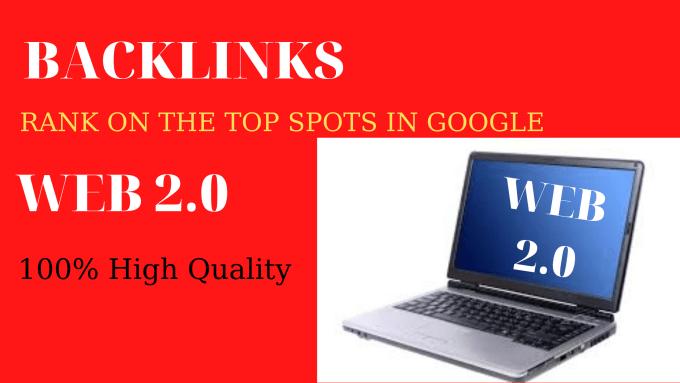 I will make 30 web 2.0 profile backlinks physically.