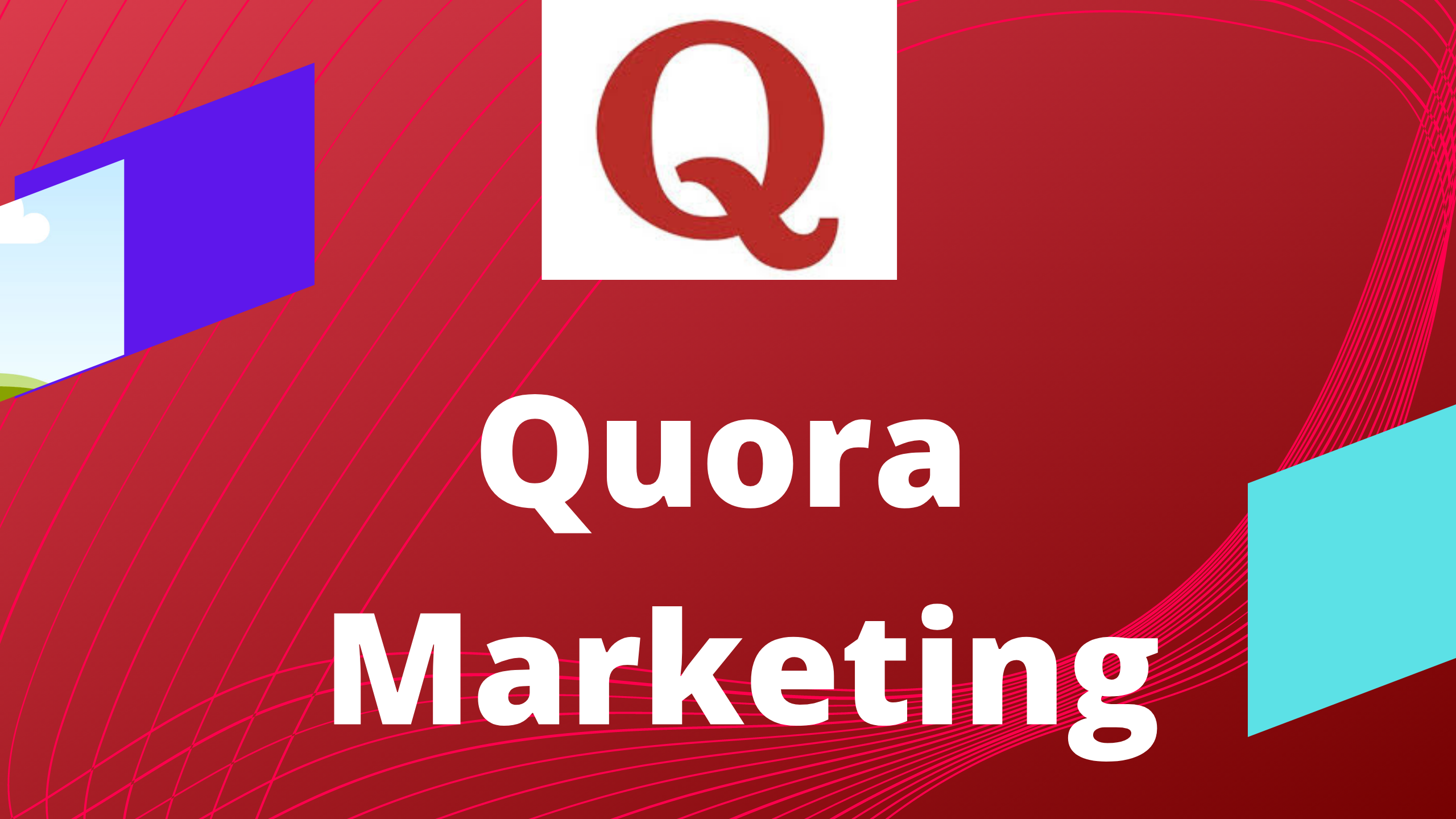 Advance your site 5 Quora answer with Backlink.