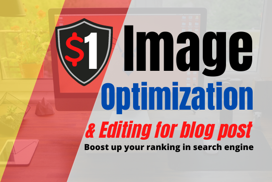 Image optimization,  Editing and Exif data change for SEO