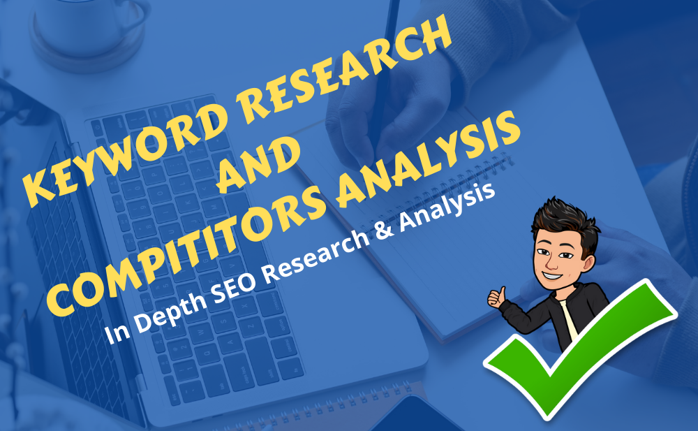 I Will Do SEO Research & Competitors Analysis