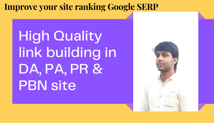 I will Provide high quality white hat SEO backlink