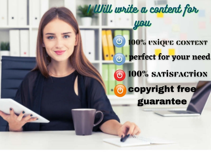 I will Write 1500 words Impressive Contents for You