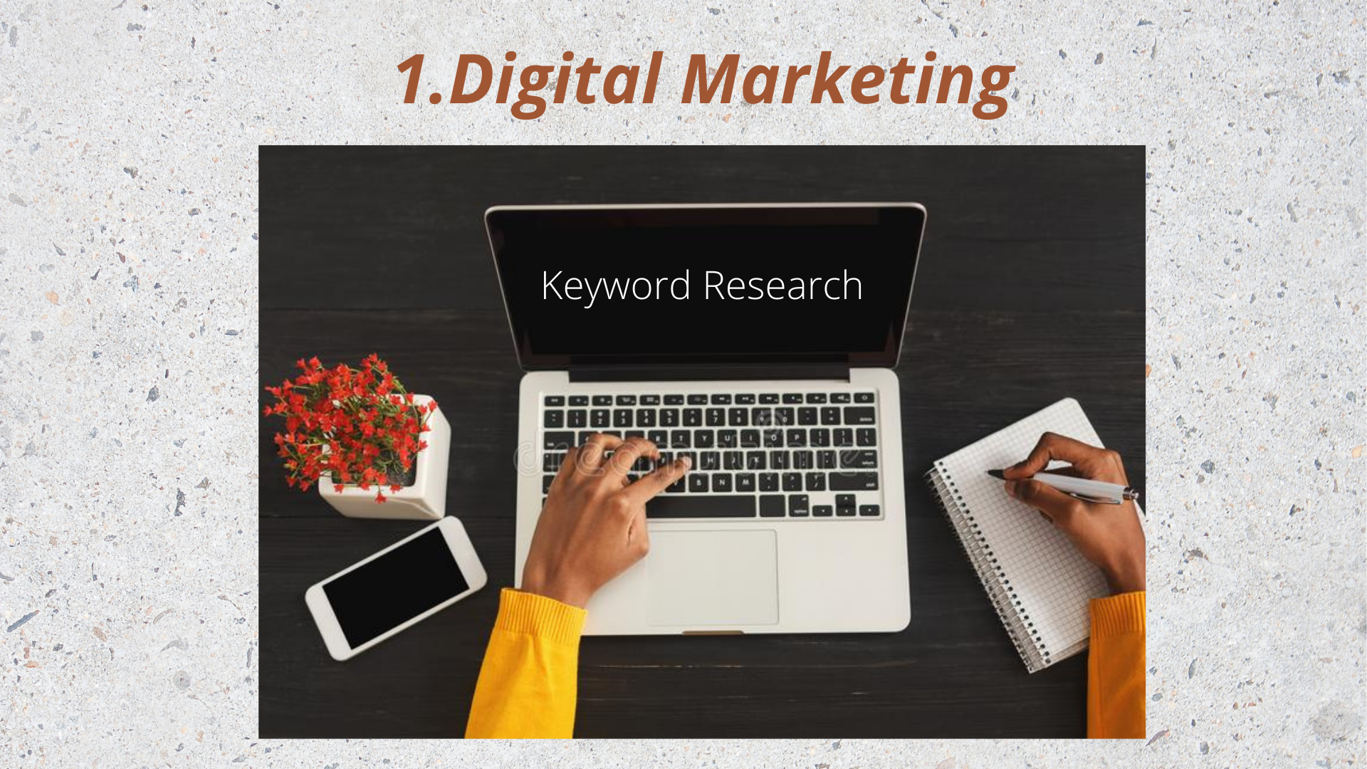 I will do best Keyword research for you.