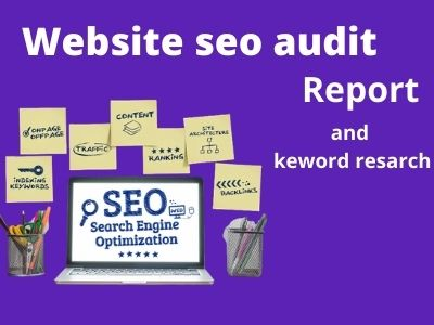 I will do complete seo audit and keword resarch