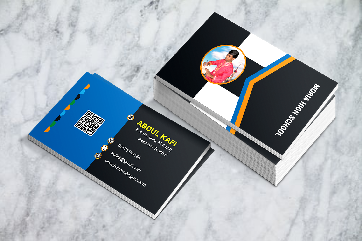 I will design professional & modern BUSINESS Card