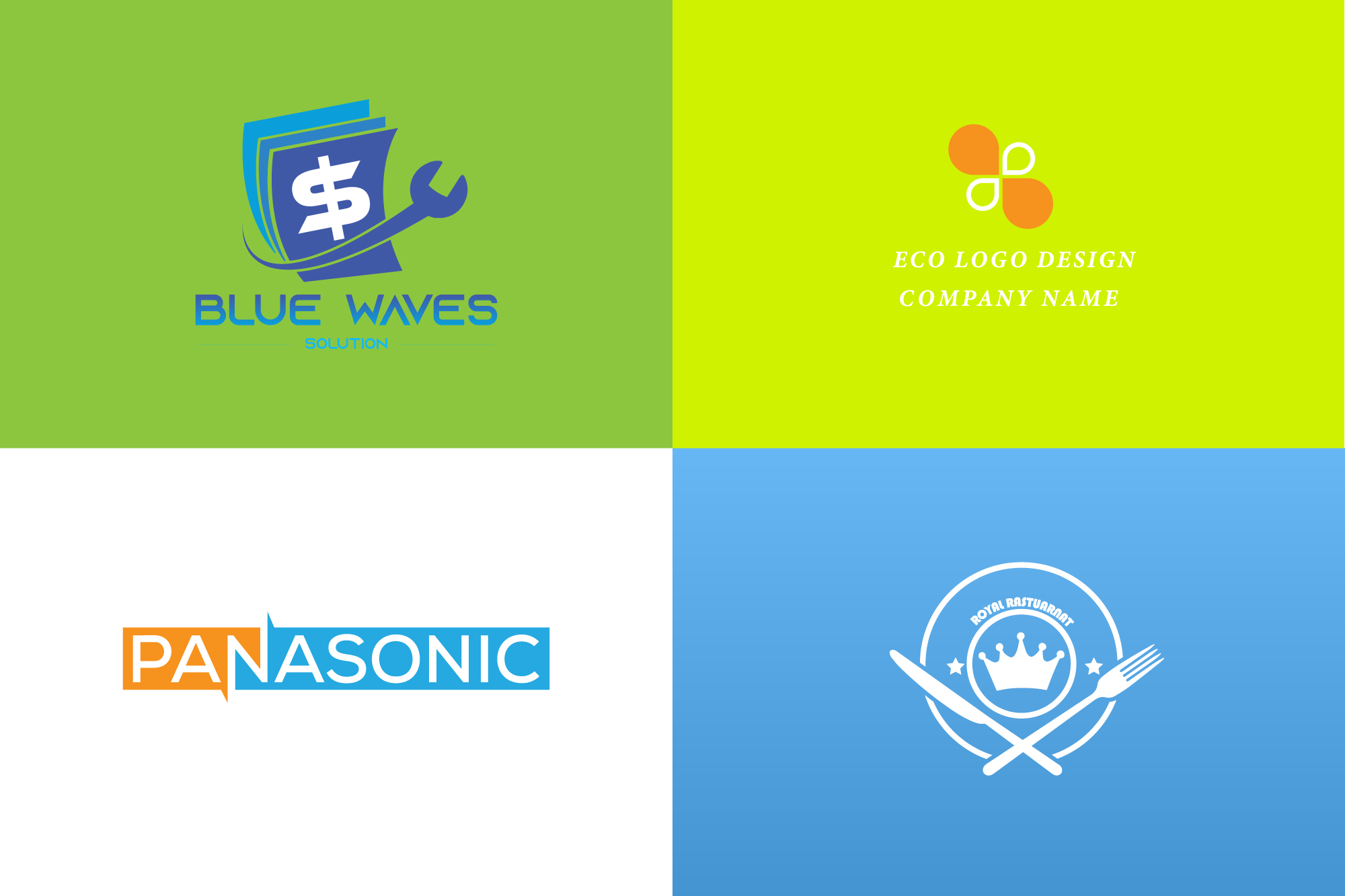 Design a professional minimalist logo for your business
