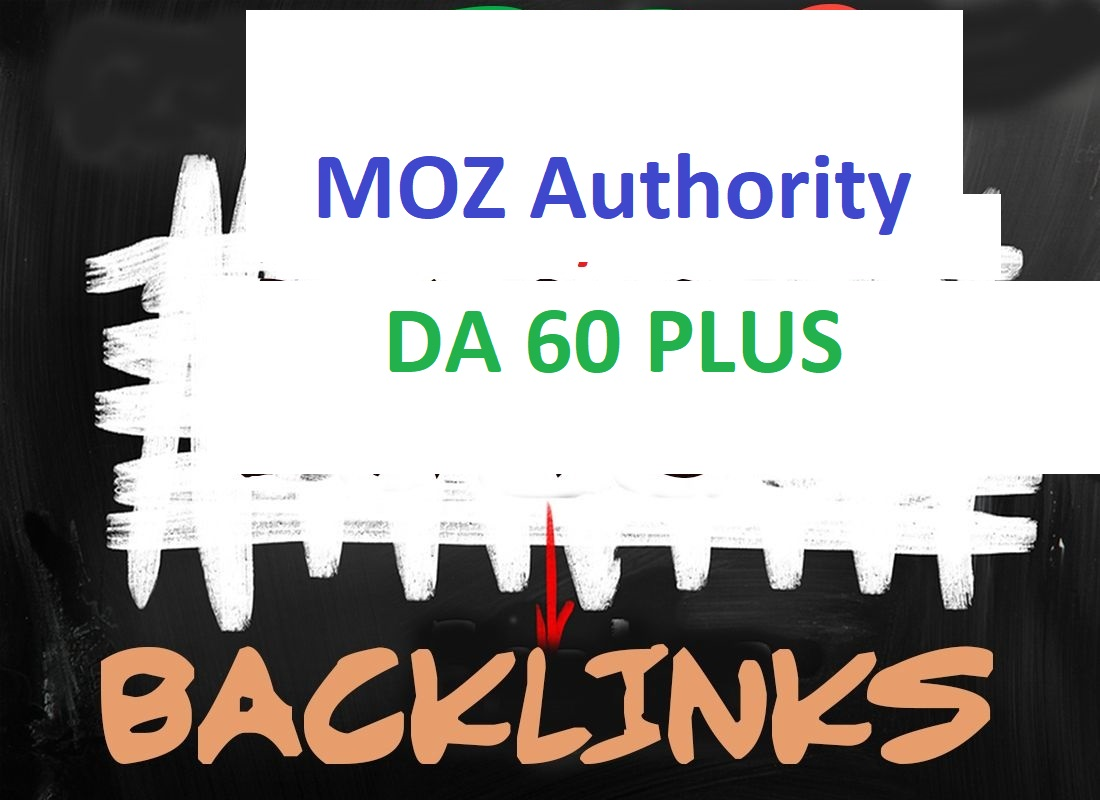 I will Increase domain authority MOZ DA 60+ with high quality 50 backlinks