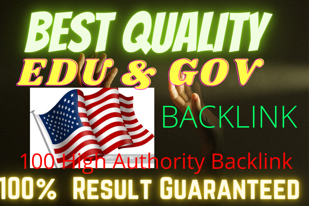 I will manually do Write and Publish Build 20 EDU/GOV Profile Backlink for Adult websites