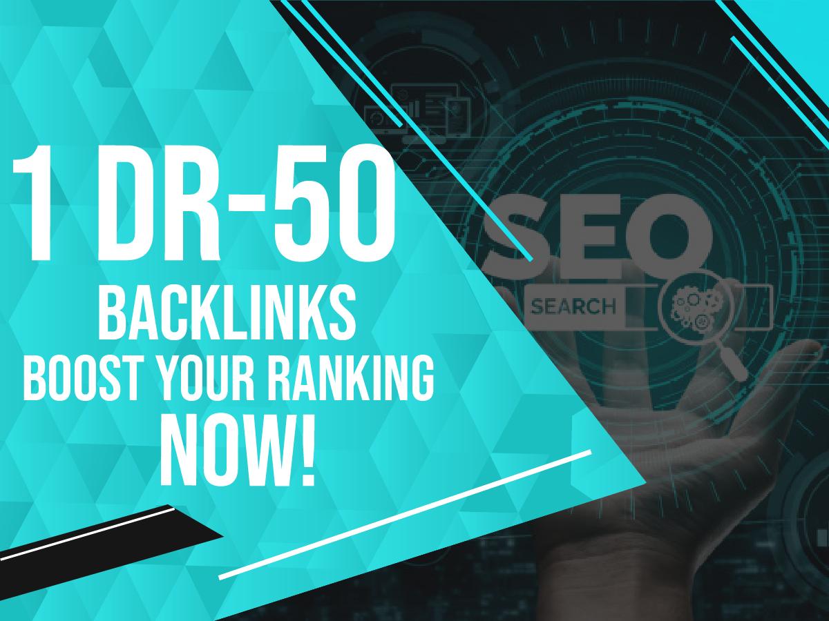 Get you 1 link form DR-50+ website