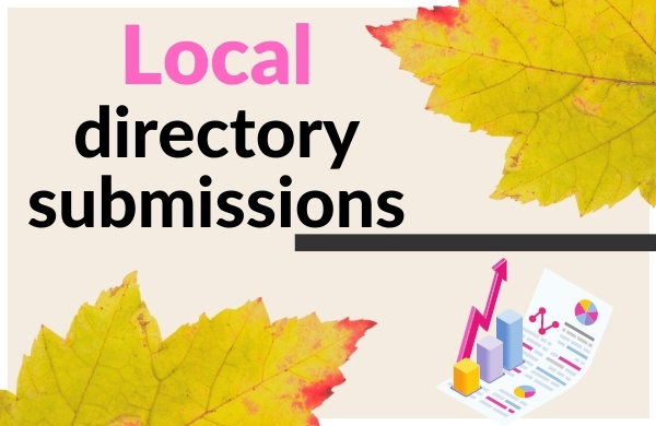 I will create local citation and directory submission