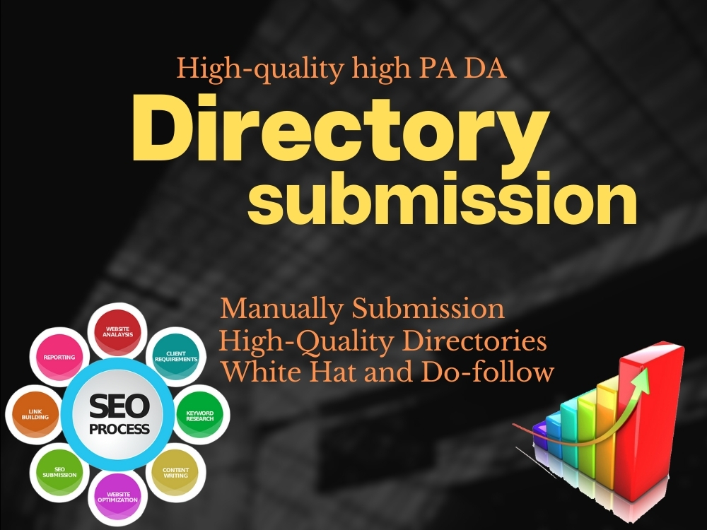 I will do directory submission manually for web site