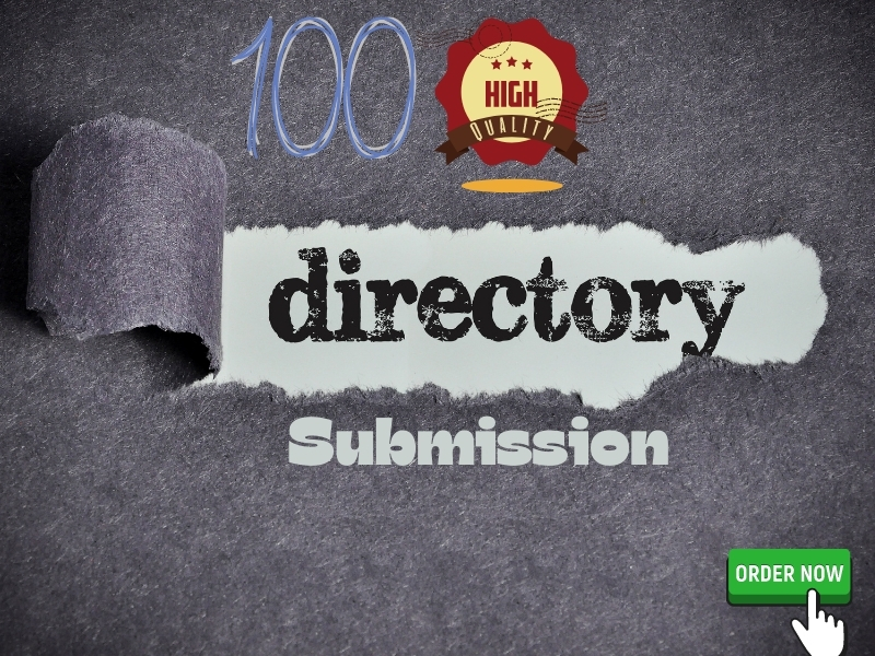 I will do 100 High Quality Directory Submission Manually