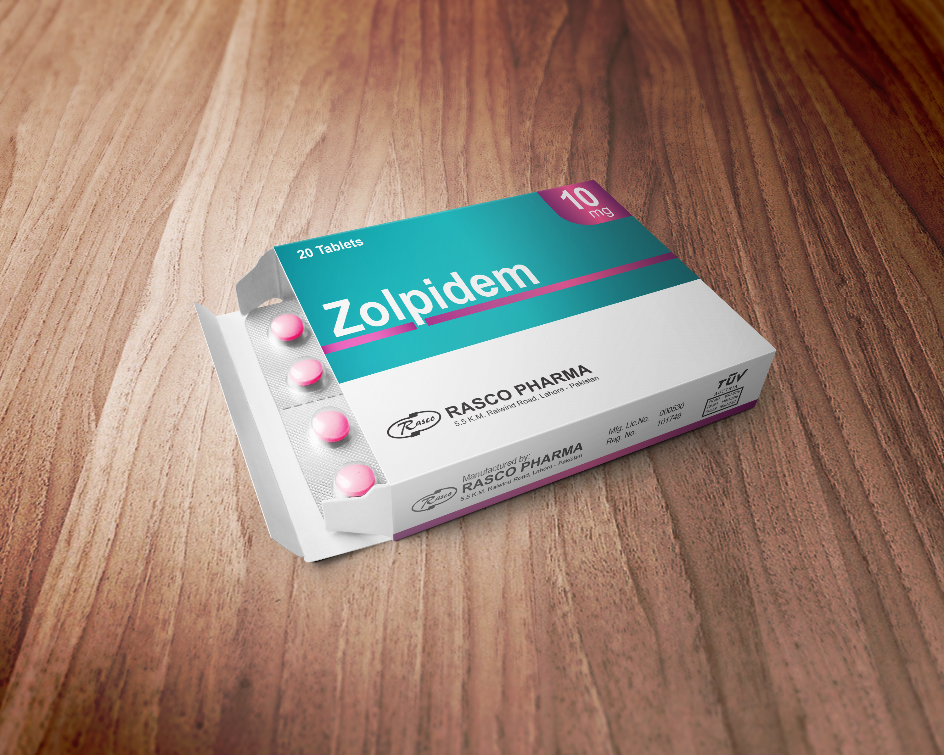 I will create Pharma packaging box and label design