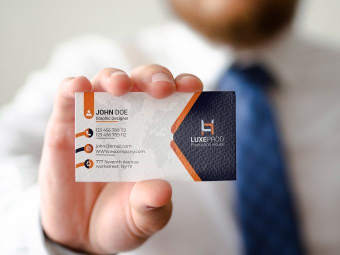 I will create unique business card