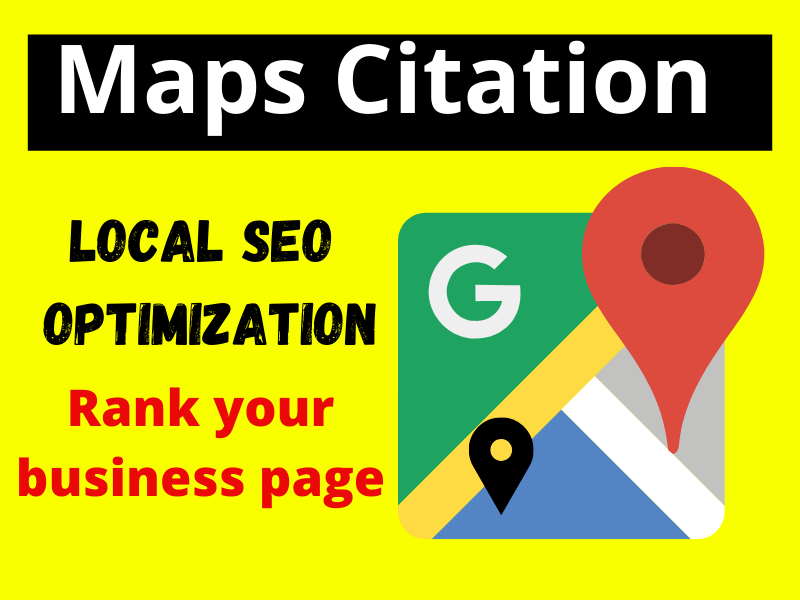 I will create 150 Google Maps Citation for Local business help rank 1 on google.