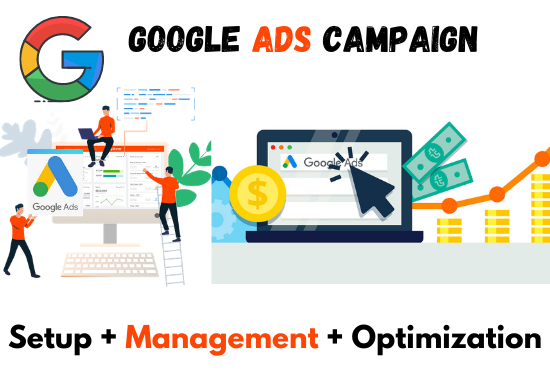 I will Quickly set up and Optimize your Google ads PPC Campaigns