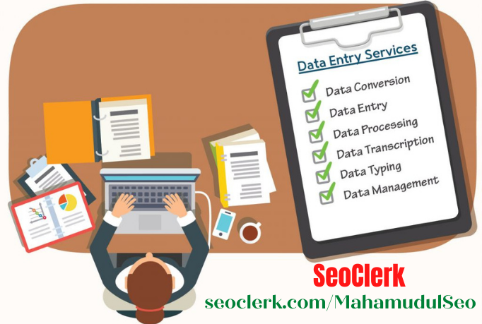 I Will do data entry,  low price in data entry