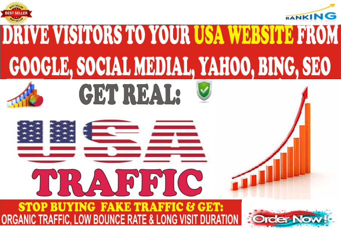 Rank Fast- 100,000+ SEO Organic Traffic from Google,  Bing