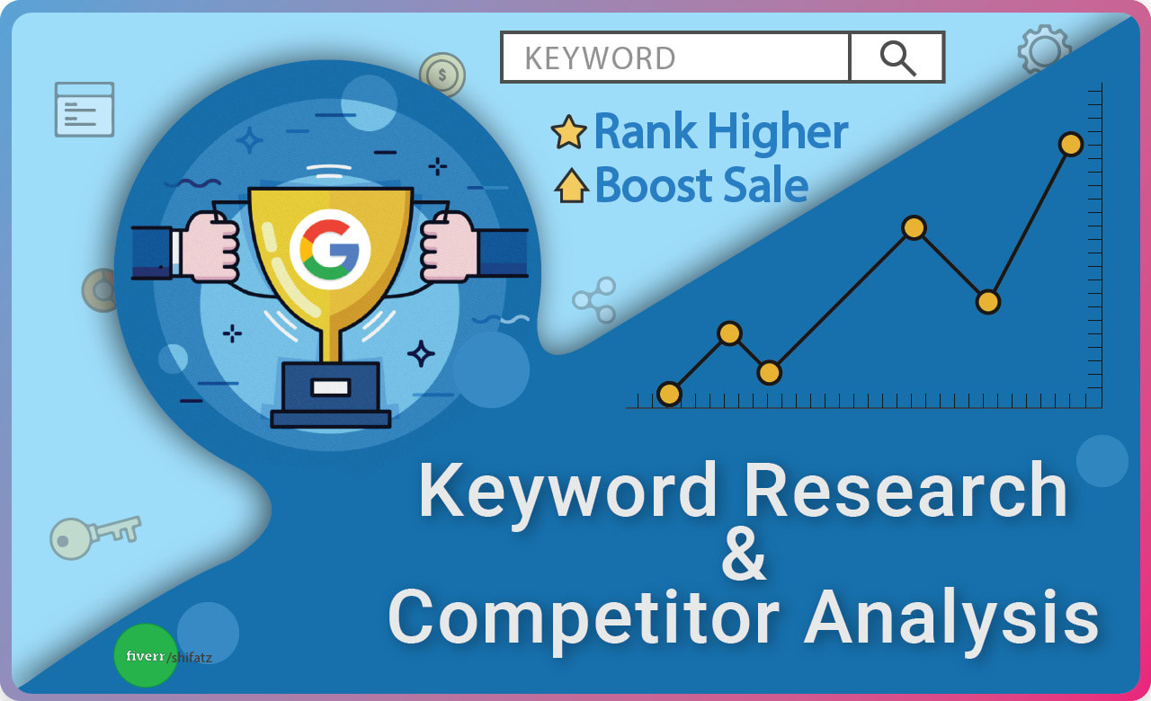 Expert SEO keywords research and competitor analysis