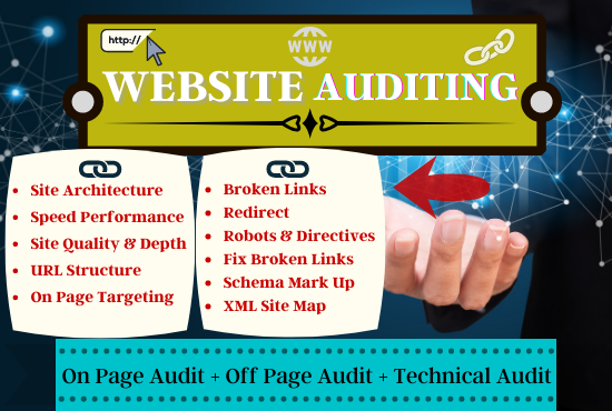 I will do a perfect website SEO audit report